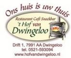 Restaurant ' t Hof van Dwingeloo