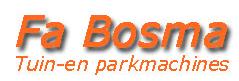 Bosma Tuin- en parkmachines