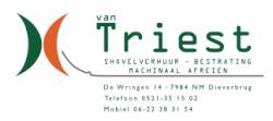 Van Triest Shovelverhuur & Bestratingen